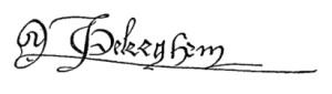 Ockeghem signature